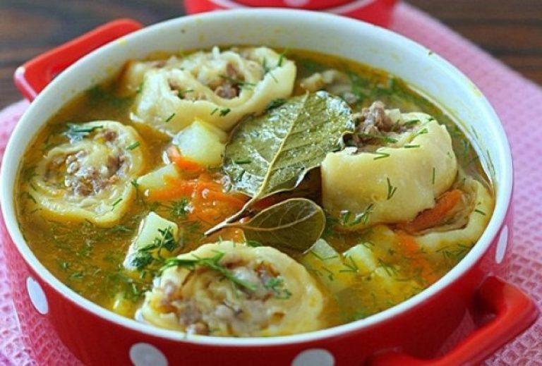 Суп с ленивыми пельменями: блюдо для всех