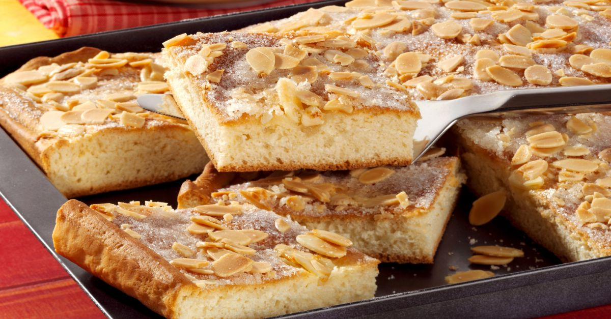 Немецкий масляный пирог