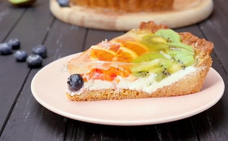 Чизкейк с желе и фруктово-ягодным дополнением: будет рад каждый