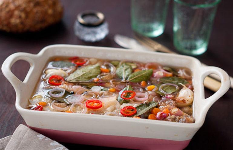 Рыба в уксусном маринаде: блюдо испанской кухни