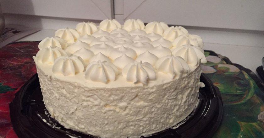 Божественно вкусный пломбирный торт