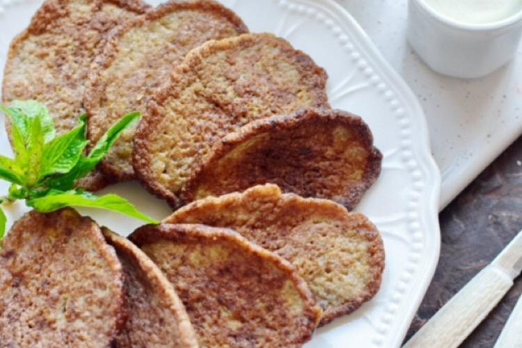 Отменные печеночные оладьи с кабачком
