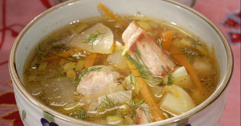 Суп с яблоками: необычное первое блюдо