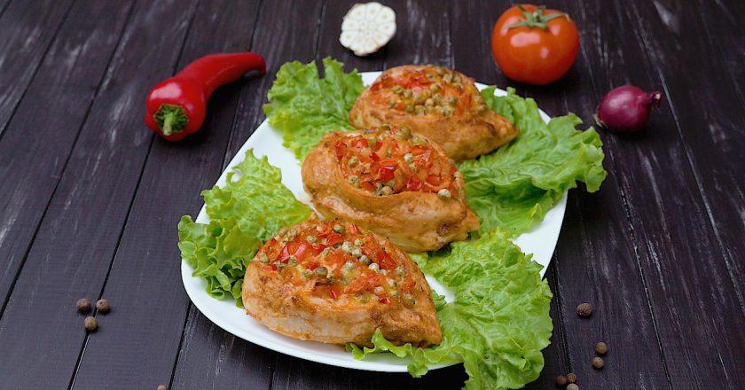 Куриное филе с овощами: интересный вариант классического блюда