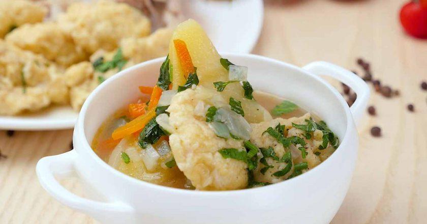 Суп с клецками по-цыгански: вкусное первое блюдо