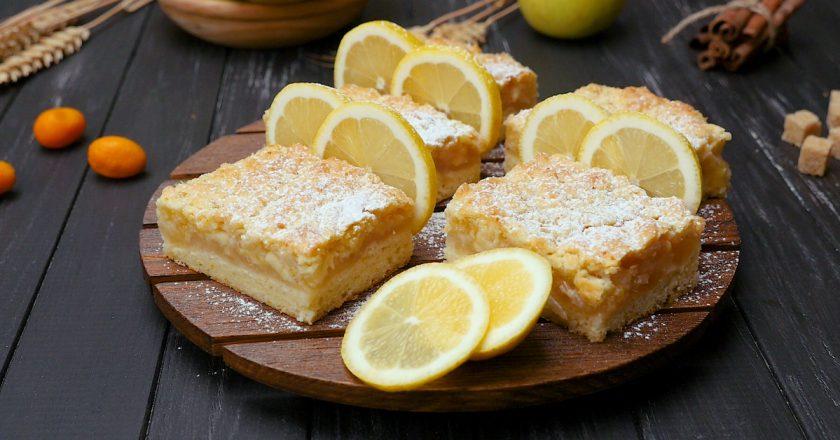 Лимонный пирог: рецепт от Ирины Аллегровой