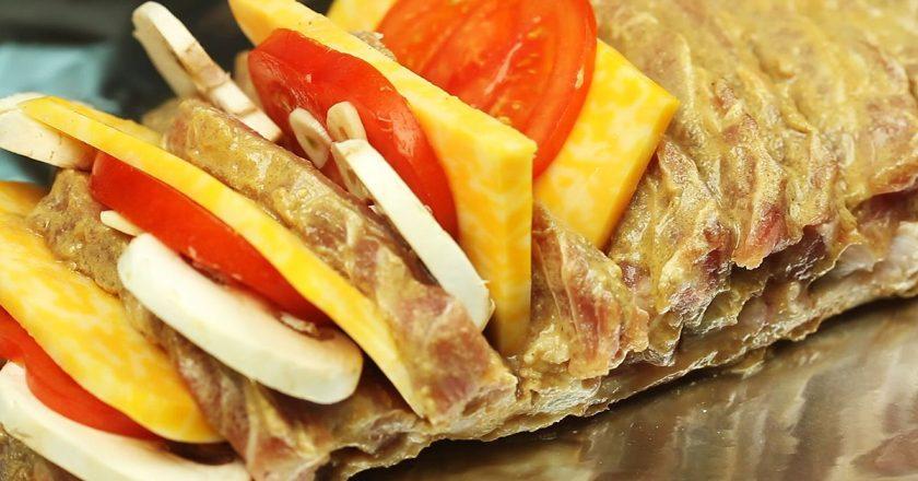 Мясо «Гармошка»: исключительно на праздничный стол!