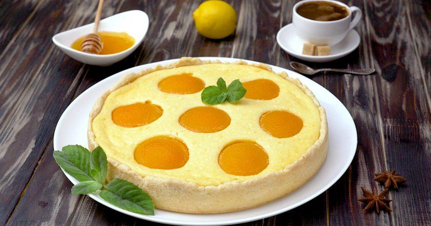 Пирог с персиками: устройте себе маленький праздник
