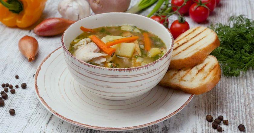 Суп с омлетом: можно и так приготовить!