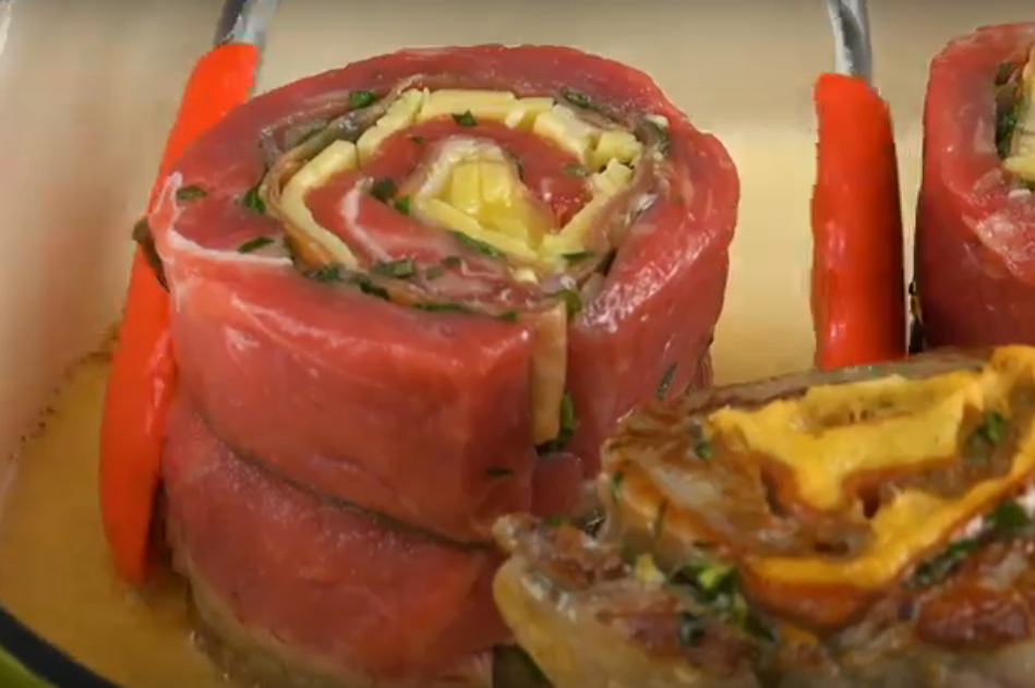 Мясные рулетики - идеальное блюдо к ужину