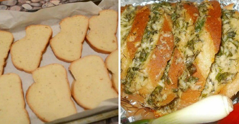Обалденный чесночный хлеб