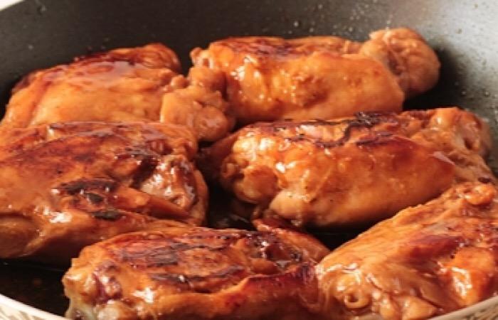 Отменные куриные бедра в соусе терияки