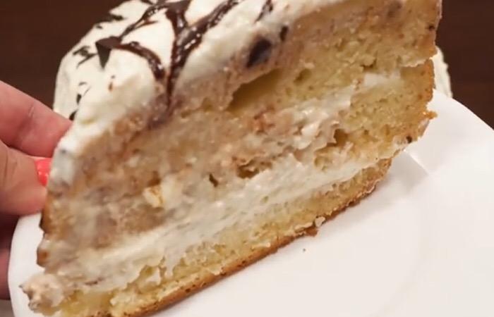 Готовим в мультиварке: божественный медово-кокосовый торт
