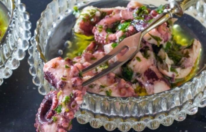 Бесподобные маринованные осьминоги