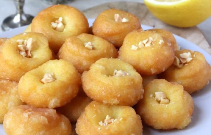 Воздушные турецкие пончики