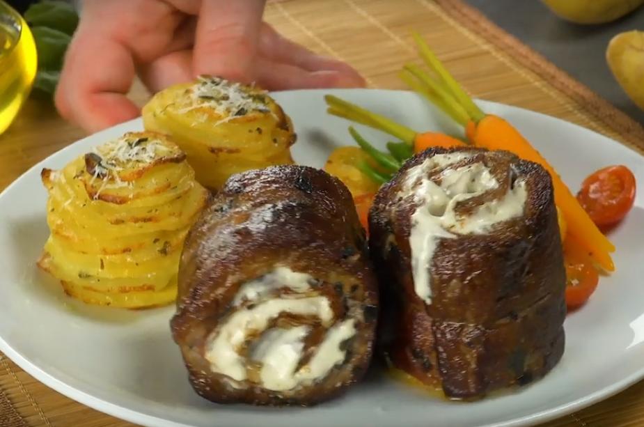 Шикарный гарнир - картофель в формочке для кексов