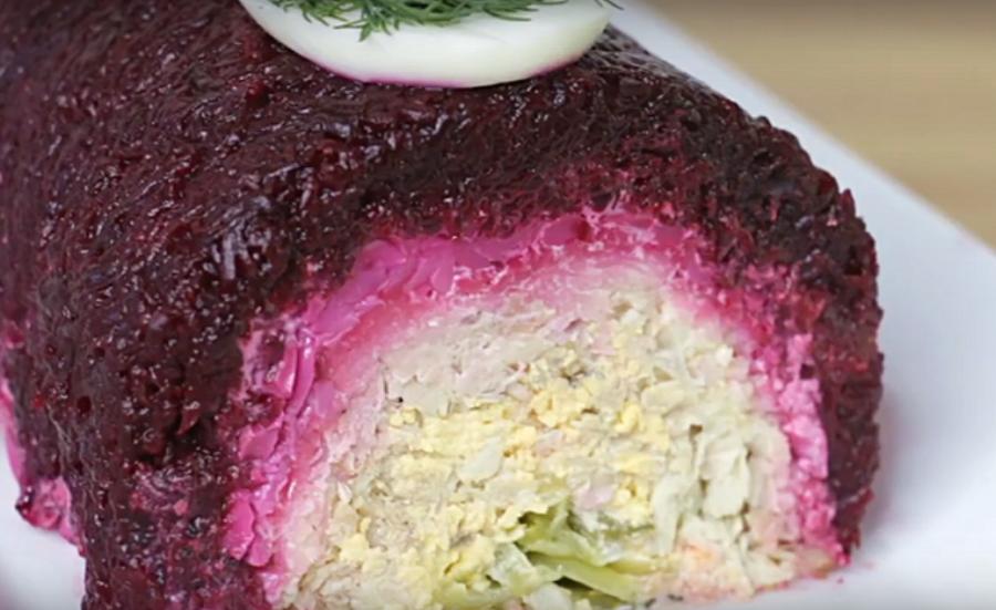 Праздничный салат - такого вы еще не пробовали