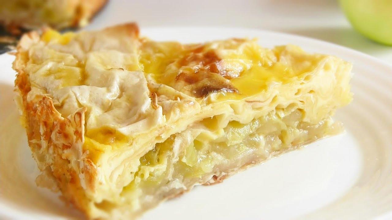 """Превосходный пирог с яблоками """"Райский"""""""