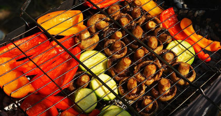 Овощи на гриле: полезная альтернатива мясным блюдам