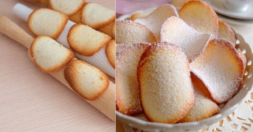 Вкусное французское печенье