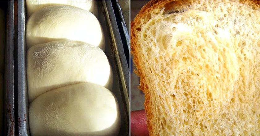 Домашний тостовый хлеб «Облачко»: пушистый и пористый
