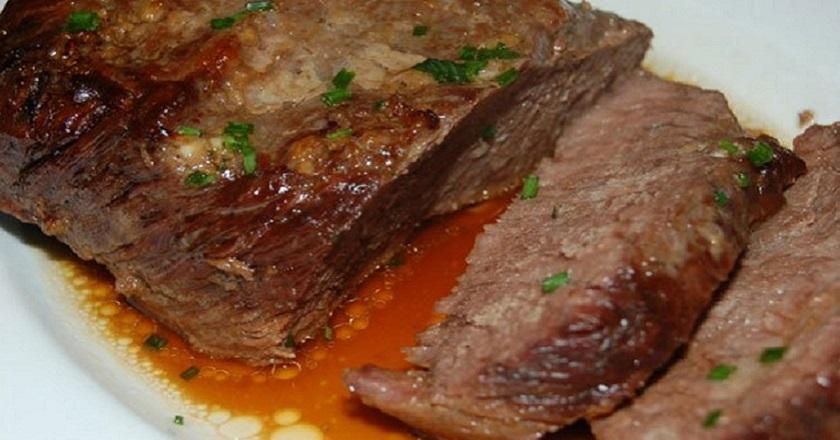 Говядина с имбирем в рукаве: нежное и очень вкусное мясо