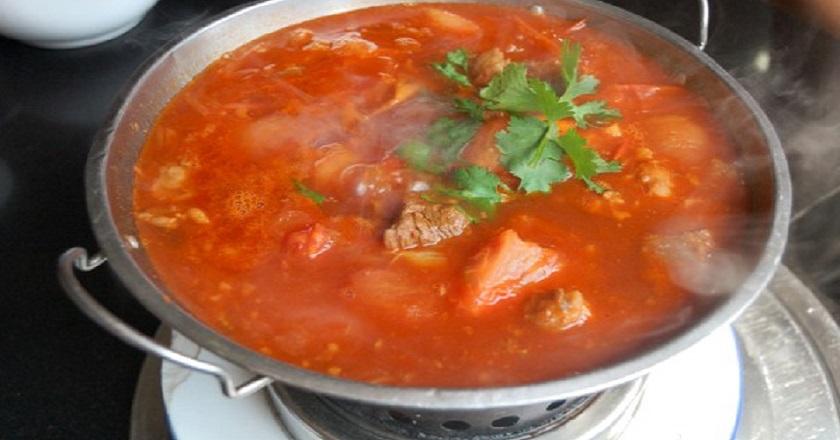 Бозартма из курицы: настоящий мясной суп
