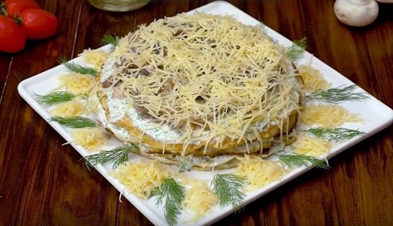 Торт из кабачков: еще один рецепт в вашу копилку