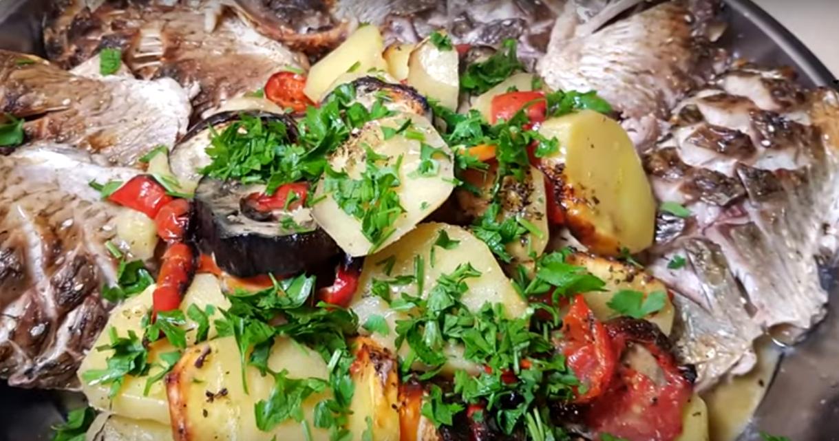 Шикарное блюдо из карасей