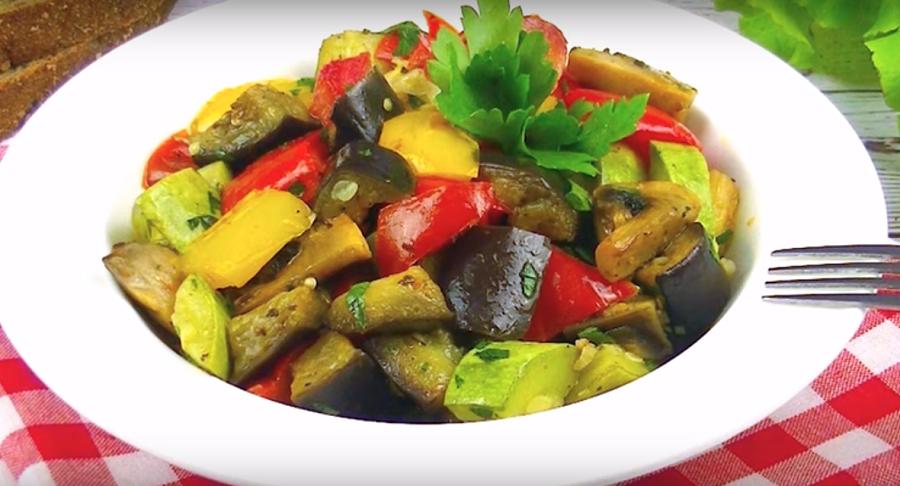 Невероятно вкусный гарнир из овощей