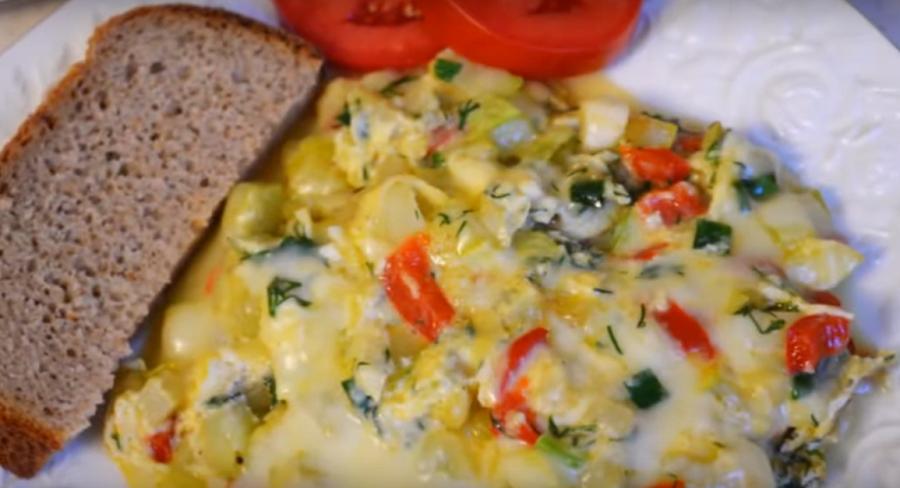 Потрясающее блюдо к завтраку