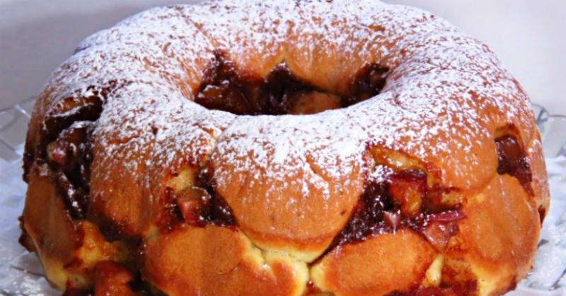 Отрывной пирог с овощами: гениальное изобретение кулинаров
