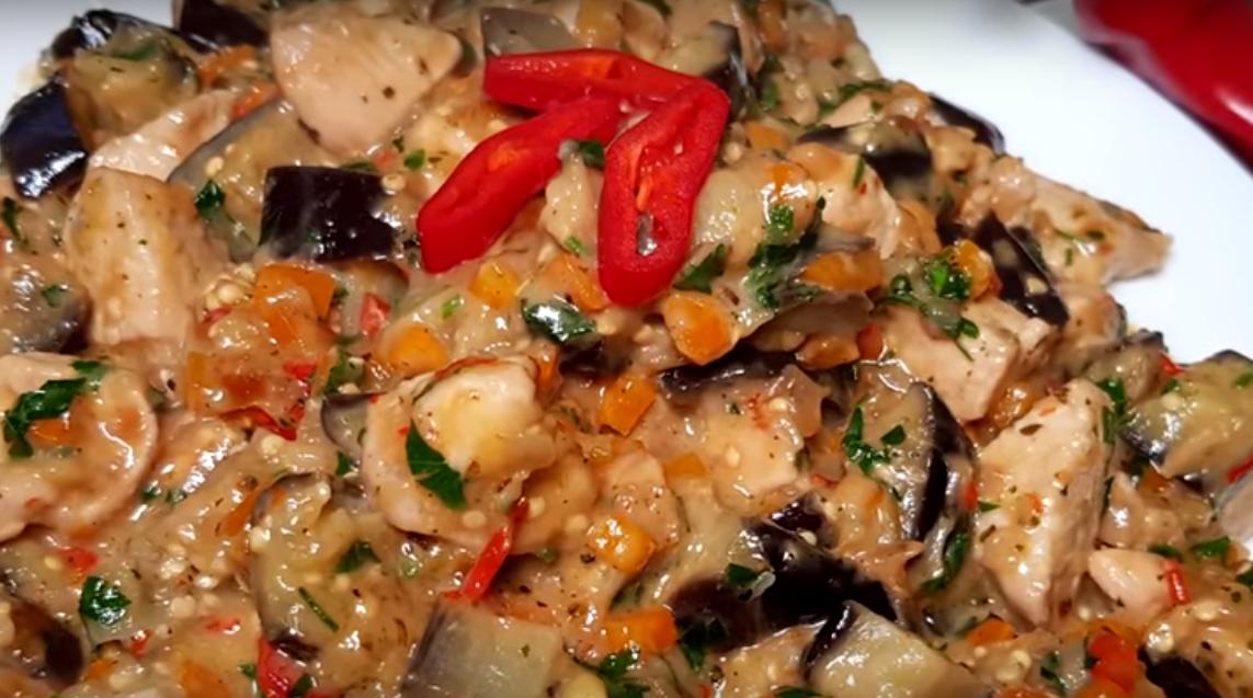Новый рецепт приготовления баклажанов