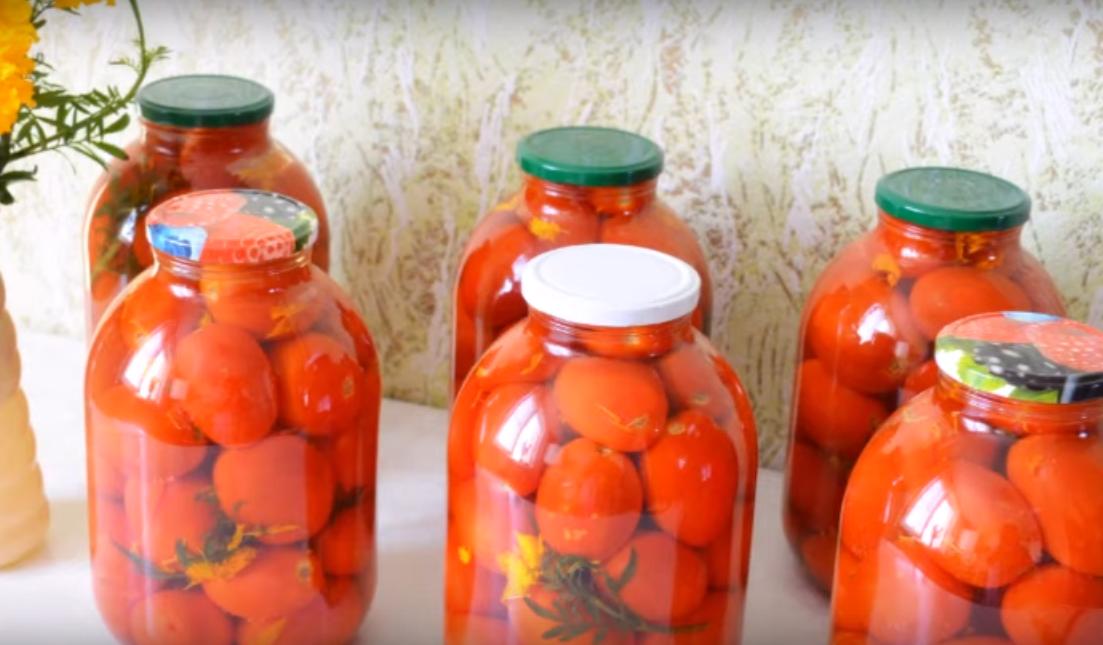 Самые ароматные помидоры на зиму