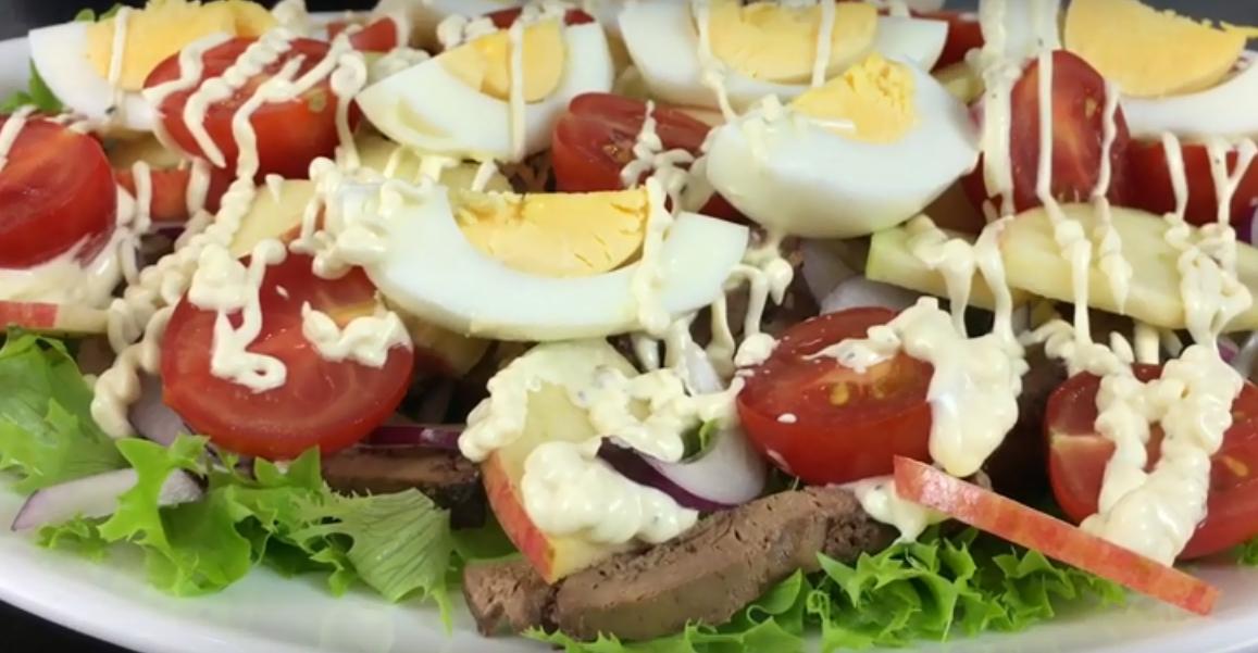 """Просто потрясающий салат """"Объедение"""""""