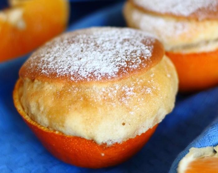 Обалденные кексы в апельсиновой кожуре