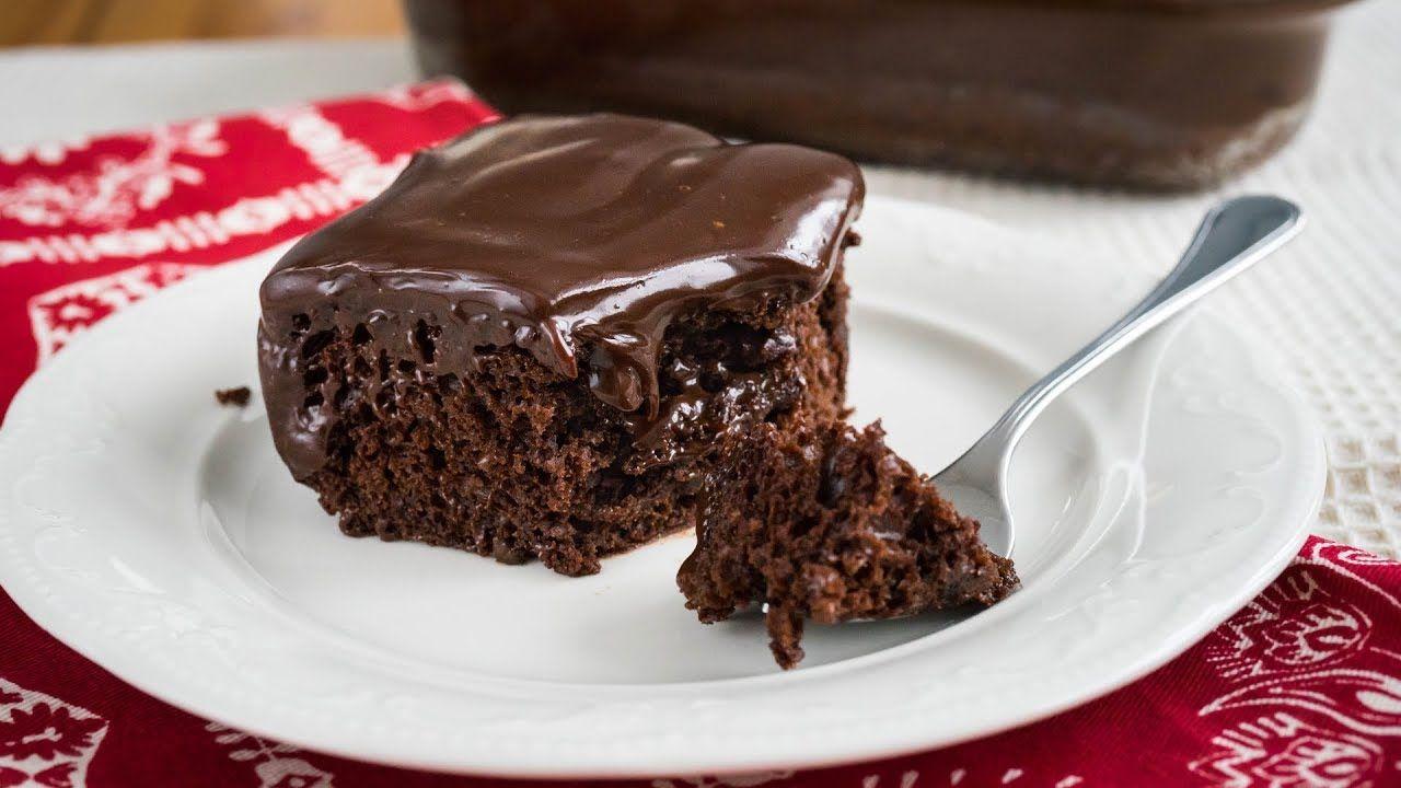 Самый шоколадный пирог с ганашем - готовим за 10 минут