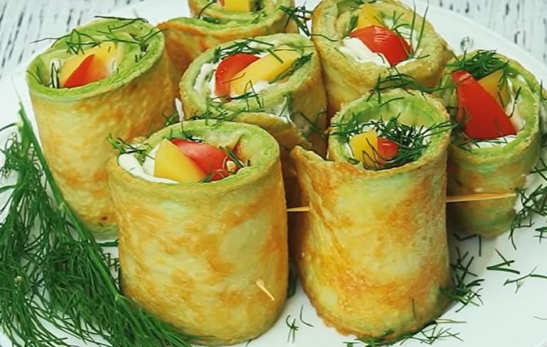 «Тещин язык» из кабачков: изумительная закуска на скорую руку