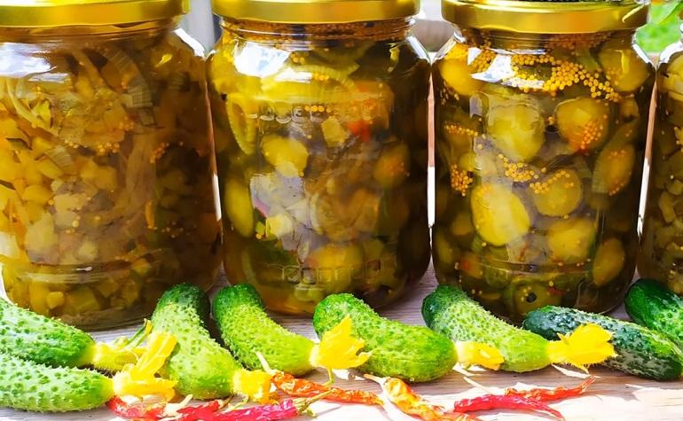 Новый рецепт: огурцы «Пикули» из крупных плодов на зиму