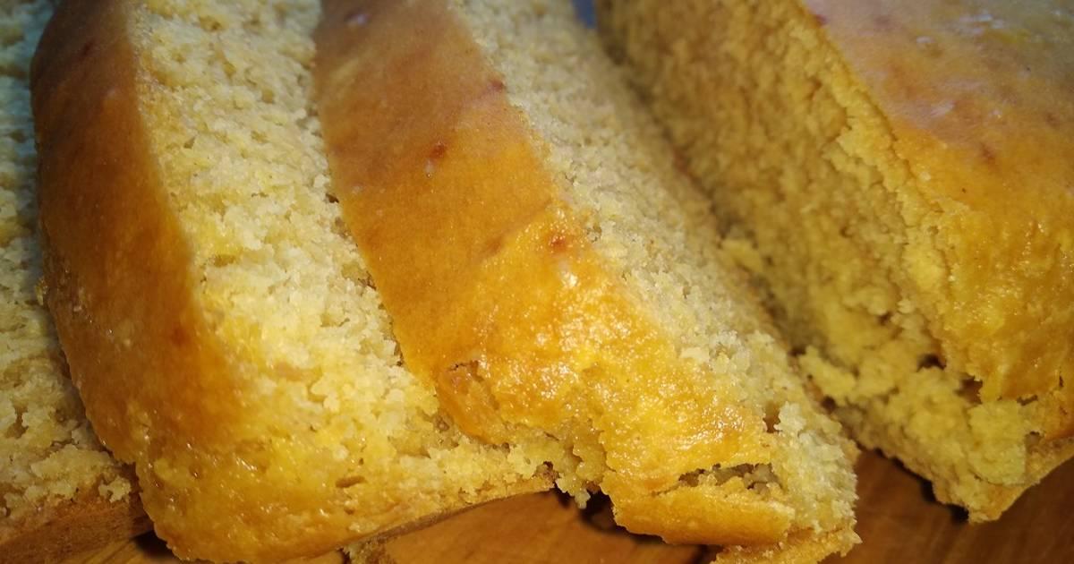 Быстрый кукурузный хлеб без дрожжей