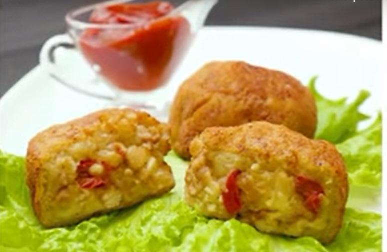 Картофельные шарики с курицей: незабываемое блюдо из простых продуктов