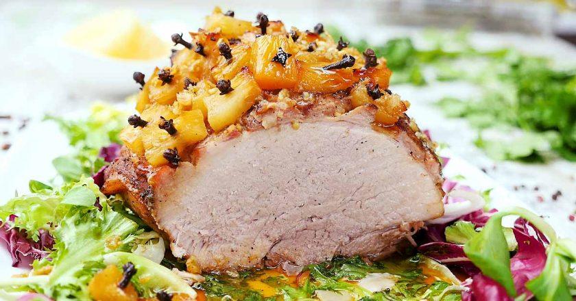 Свинина по-гавайски: яркое и необычное угощение