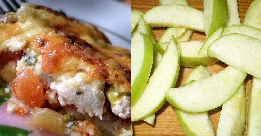Куриная запеканка «Осенний вальс»: потому что с яблоками!