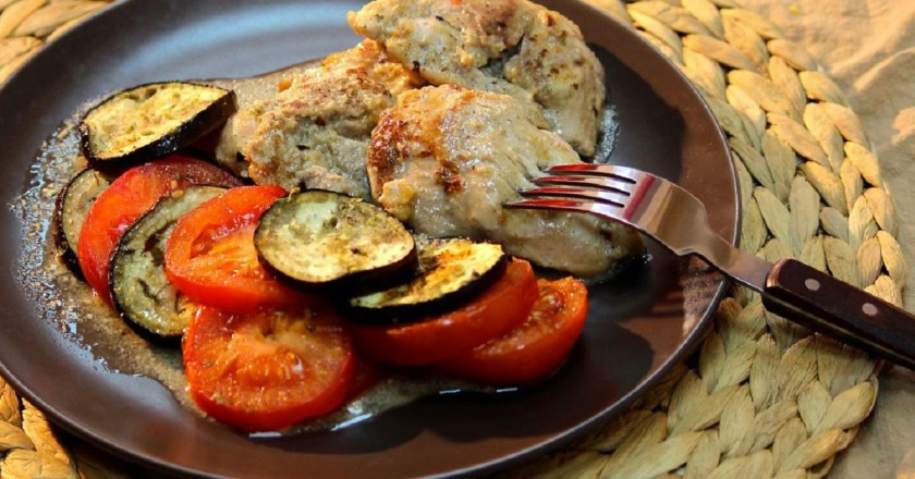 Баклажаны с куриным филе: заворачиваем в фольгу – и в духовку или на мангал