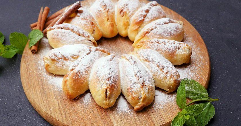 Отрывной пирог с яблоками: пышная выпечка с дарами сада