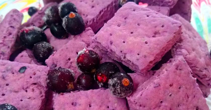 Постное ягодное печенье: простой и экономный рецепт