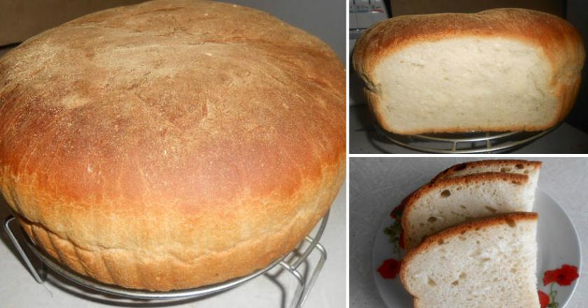 Домашний хлеб с хрустящей корочкой: простой рецепт