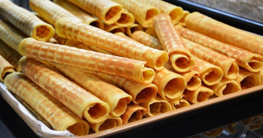 Тонкие вафли: вкус, знакомый многим с детства