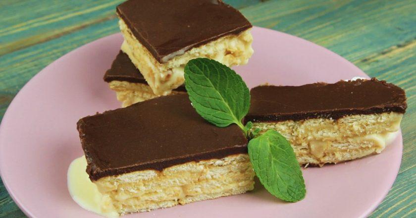 Торт-эклер без выпечки: когда забываешь о правильном питании