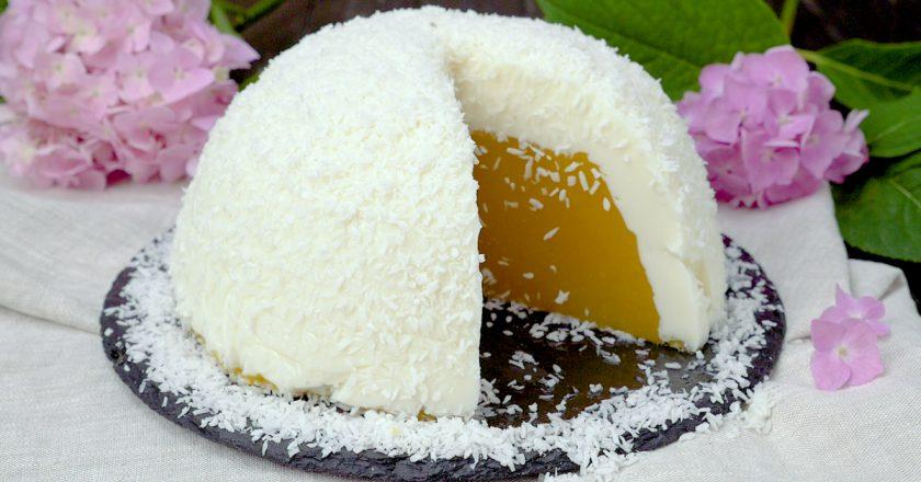 Десерт «Яйцо страуса»: приготовьте на сладкое и удивите гостей